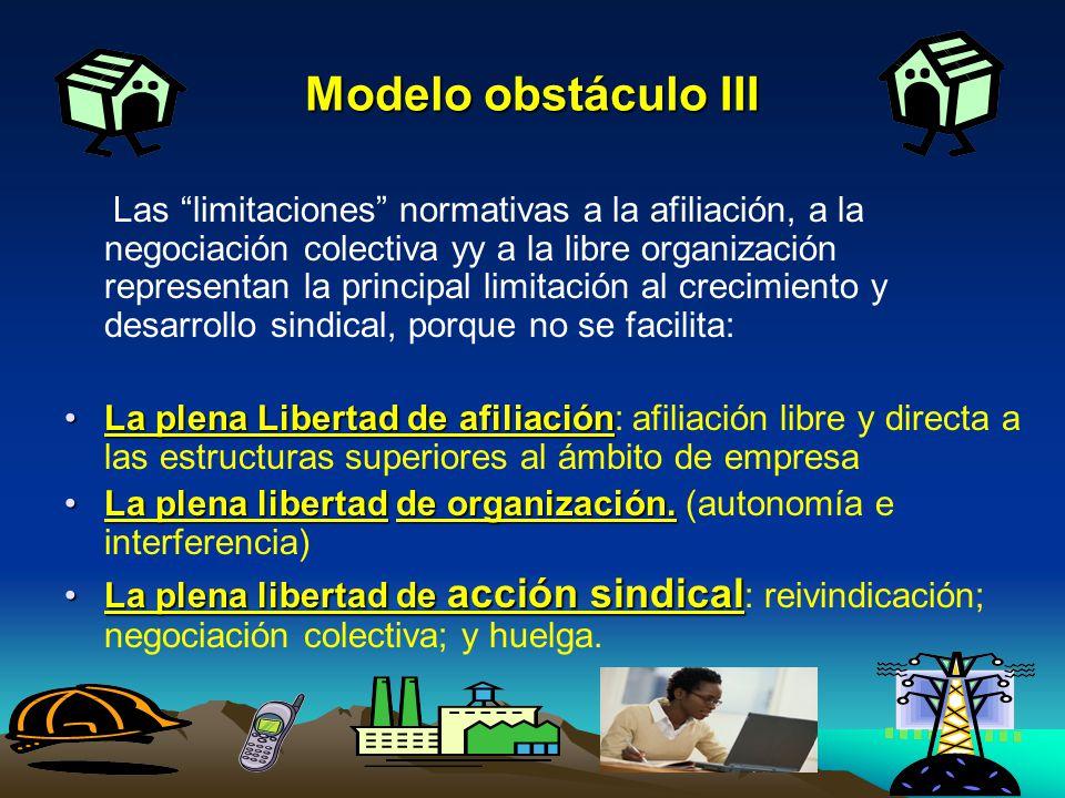 Modelo obstáculo III