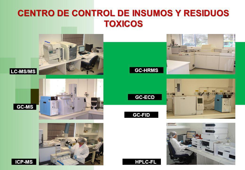 CENTRO DE CONTROL DE INSUMOS Y RESIDUOS TOXICOS