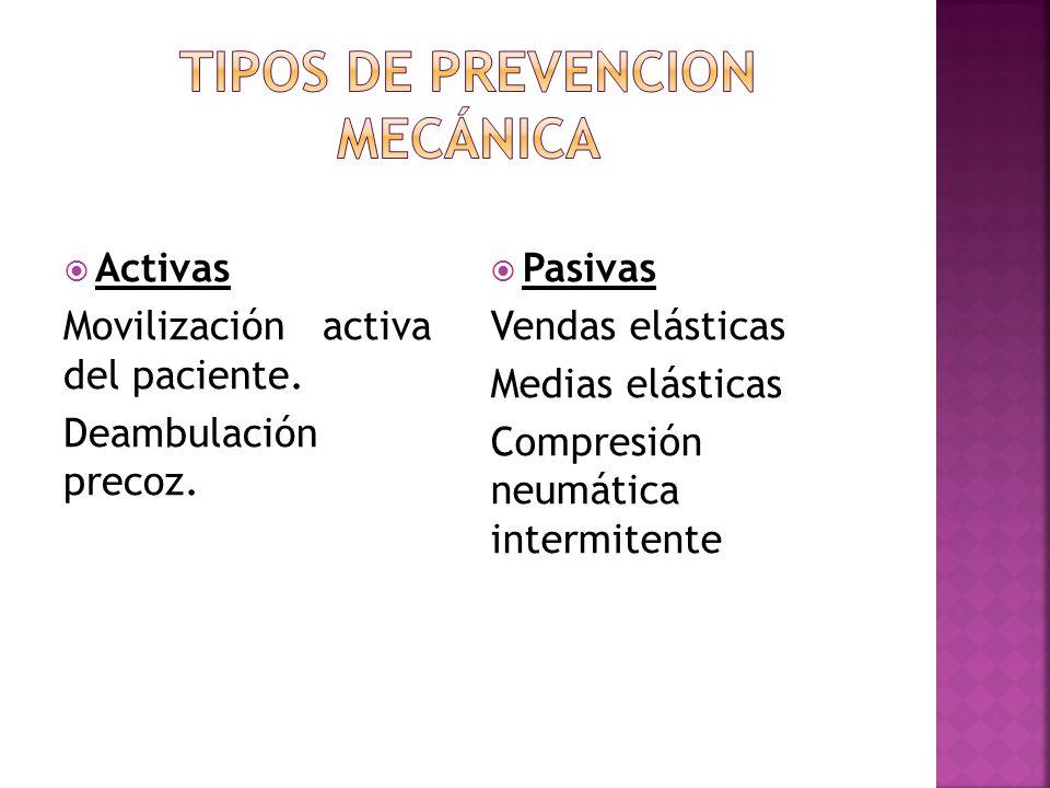 TIPOS DE PREVENCION mecánica