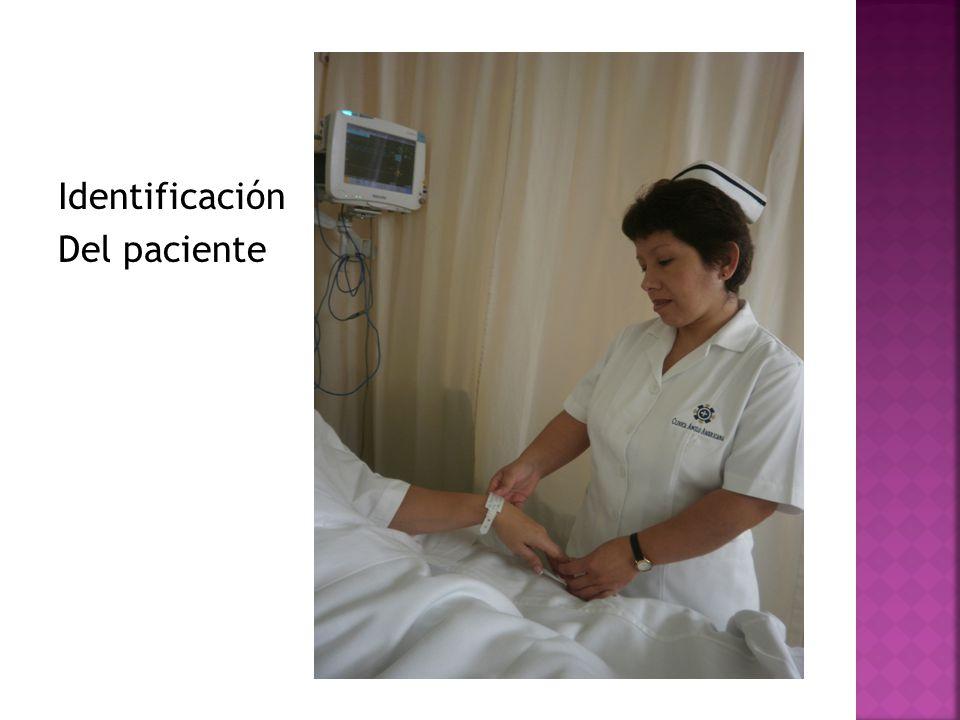 Identificación Del paciente
