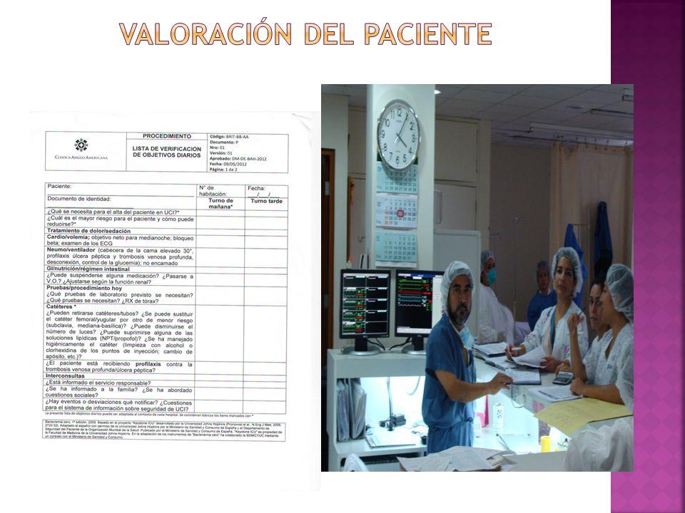Valoración del paciente