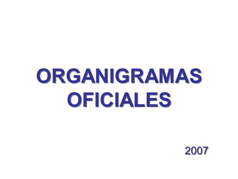 ORGANIGRAMAS OFICIALES