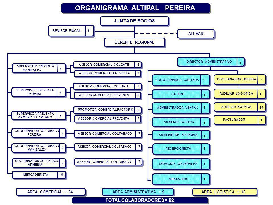 ORGANIGRAMA ALTIPAL PEREIRA