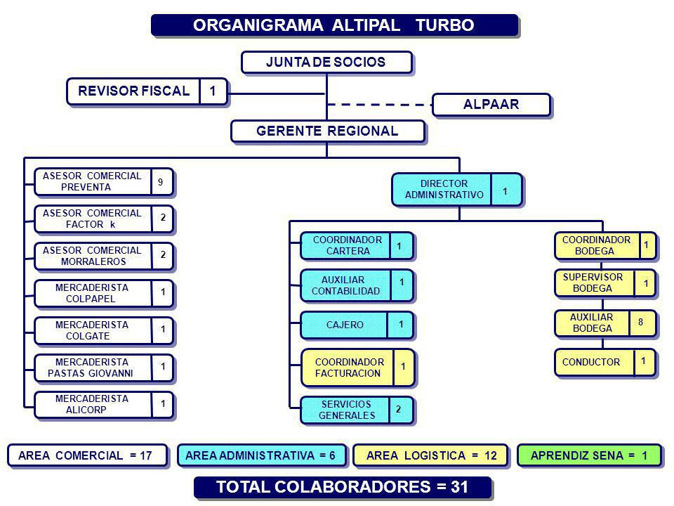 ORGANIGRAMA ALTIPAL TURBO