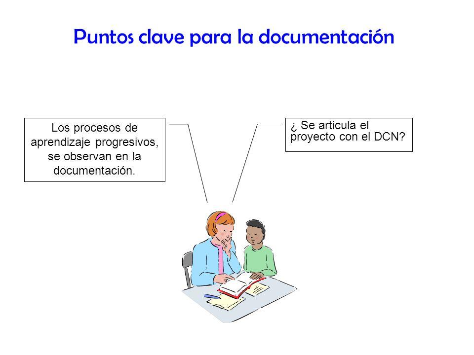 Puntos clave para la documentación