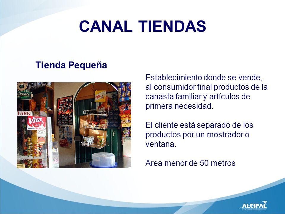 CANAL TIENDAS Tienda Pequeña