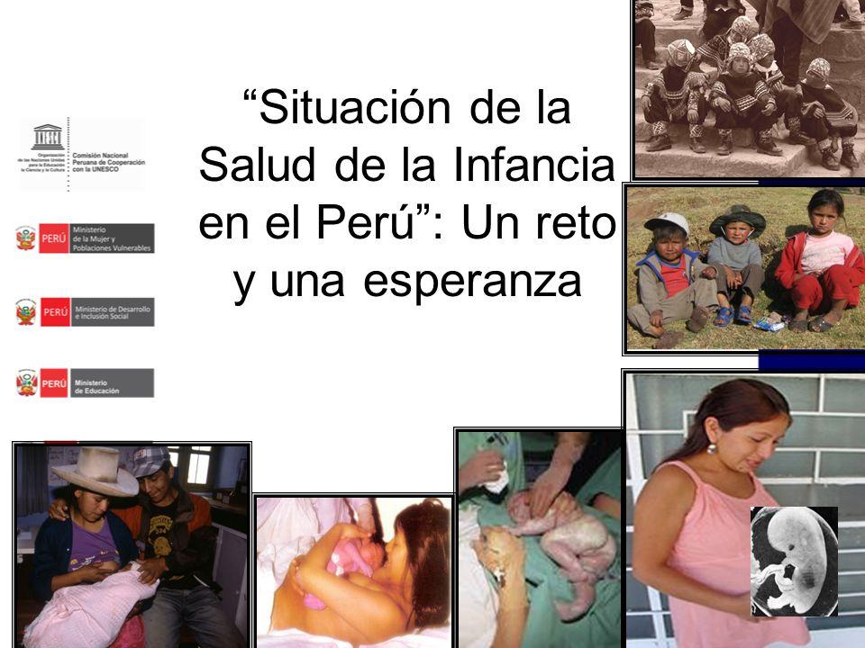 Situación de la Salud de la Infancia en el Perú : Un reto y una esperanza