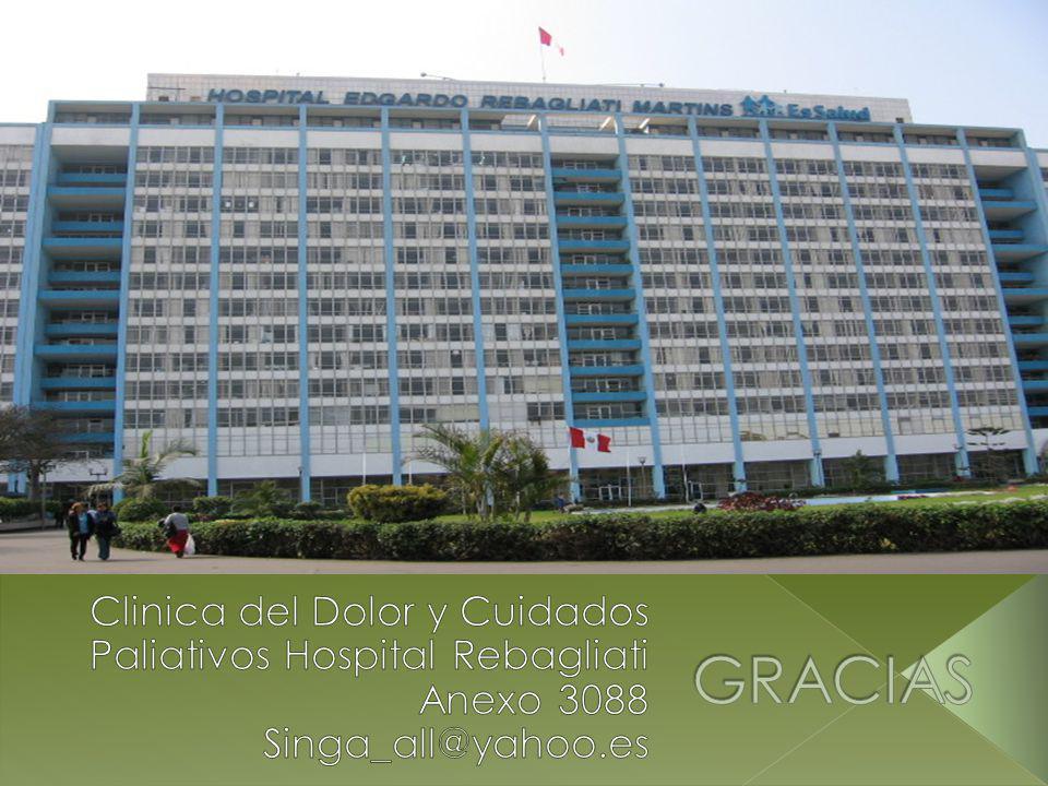 GRACIAS Clinica del Dolor y Cuidados Paliativos Hospital Rebagliati Anexo 3088 Singa_all@yahoo.es