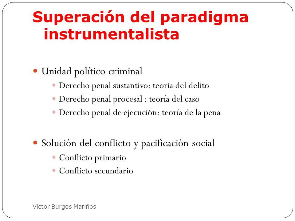 Superación del paradigma instrumentalista