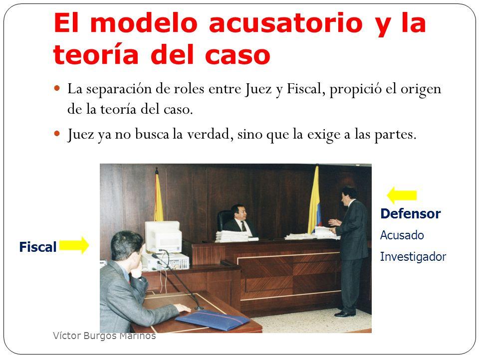 El modelo acusatorio y la teoría del caso