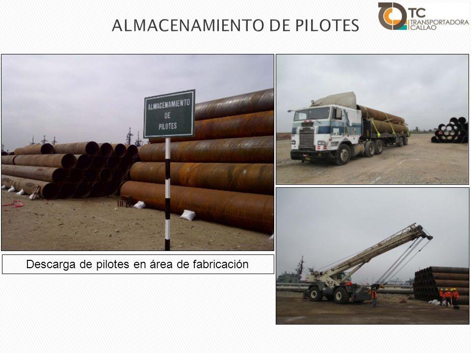 ALMACENAMIENTO DE PILOTES