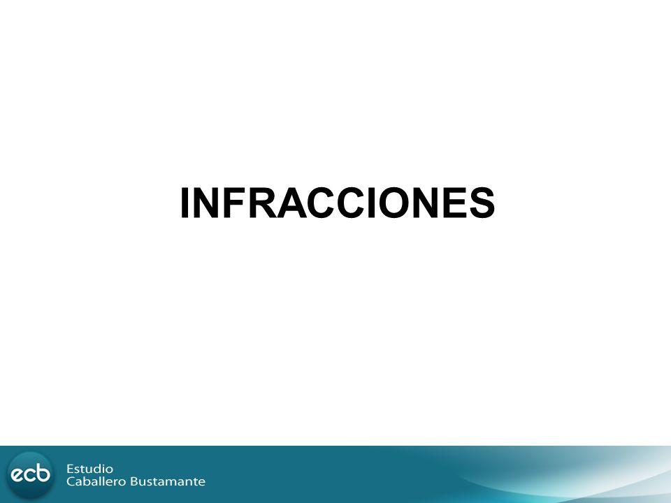 INFRACCIONES 33