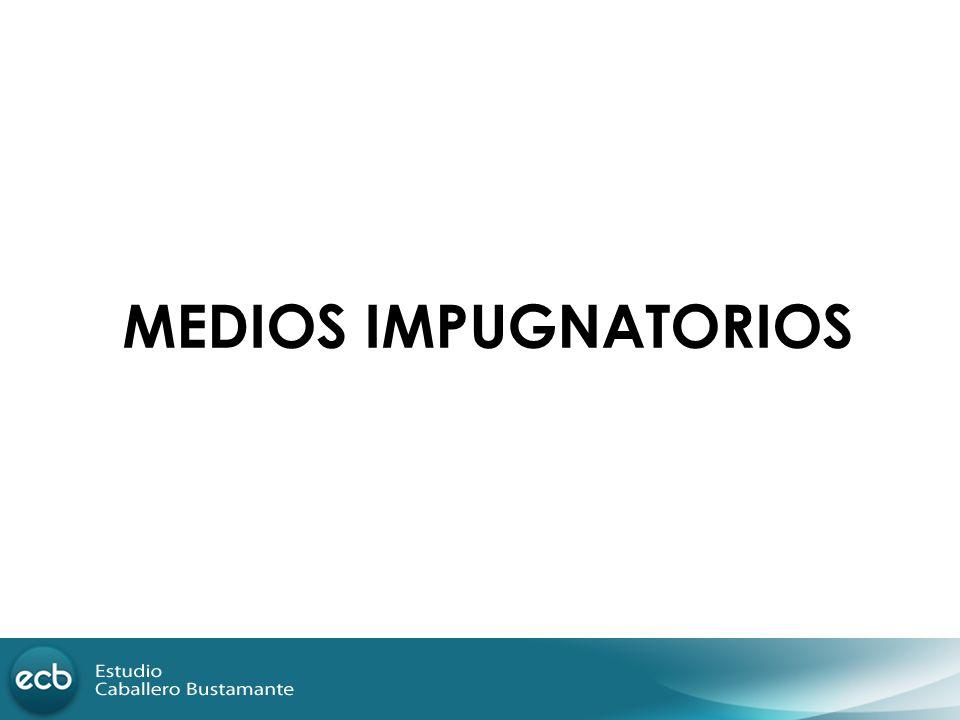 MEDIOS IMPUGNATORIOS 77