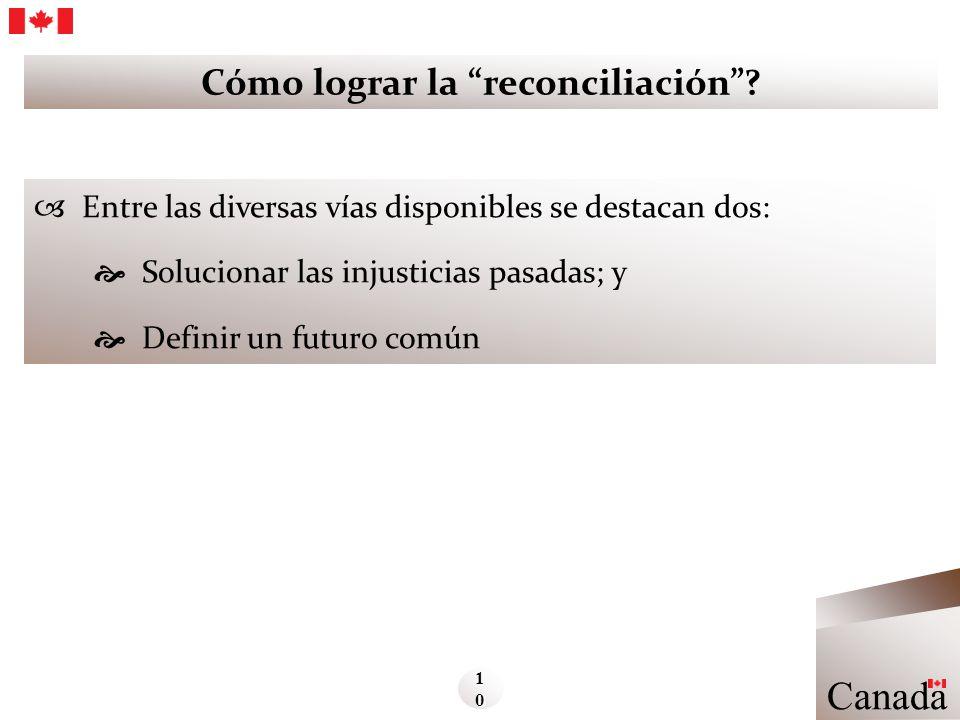 Cómo lograr la reconciliación