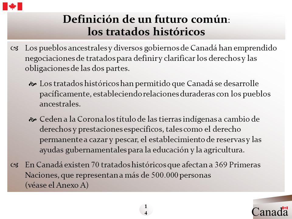 Definición de un futuro común: los tratados históricos