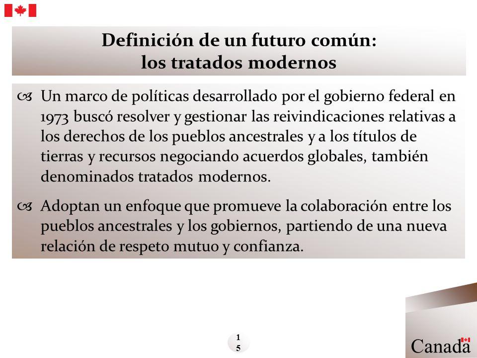 Definición de un futuro común: