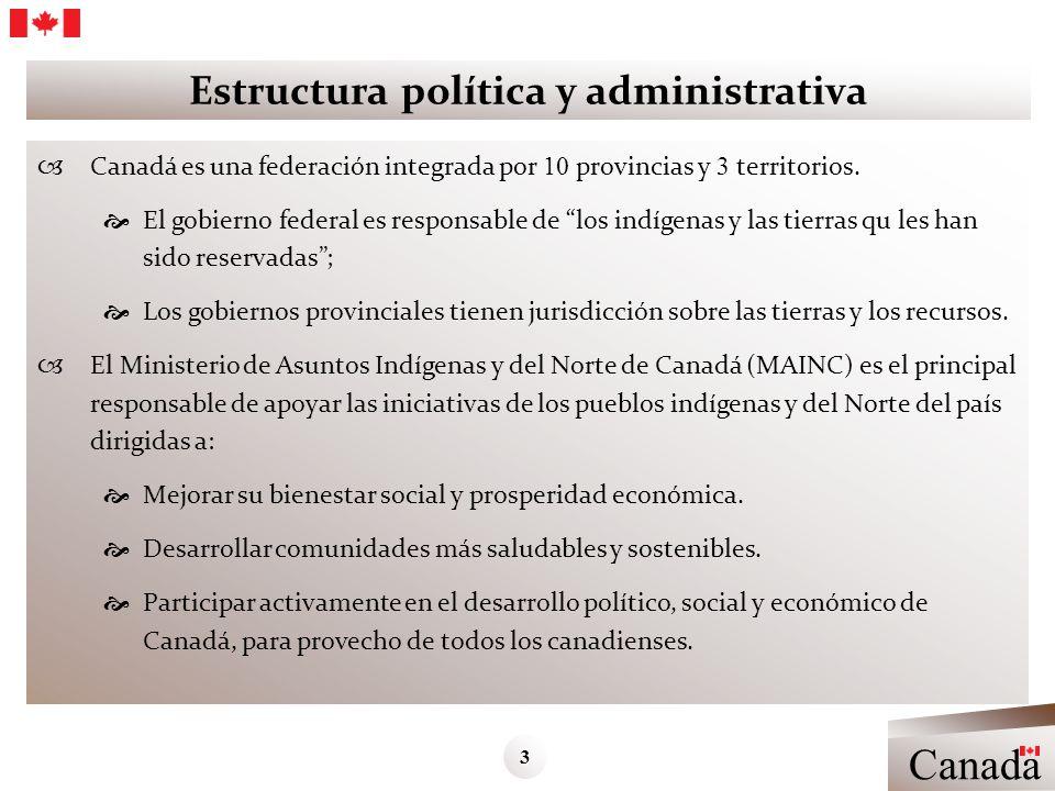 Estructura política y administrativa
