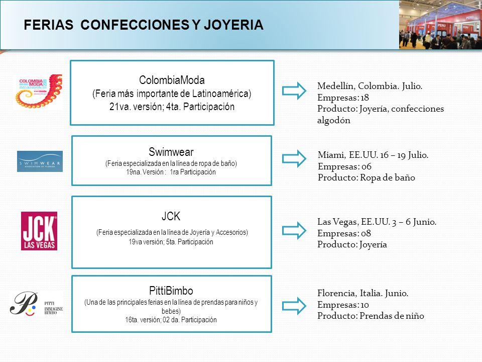 FERIAS CONFECCIONES Y JOYERIA