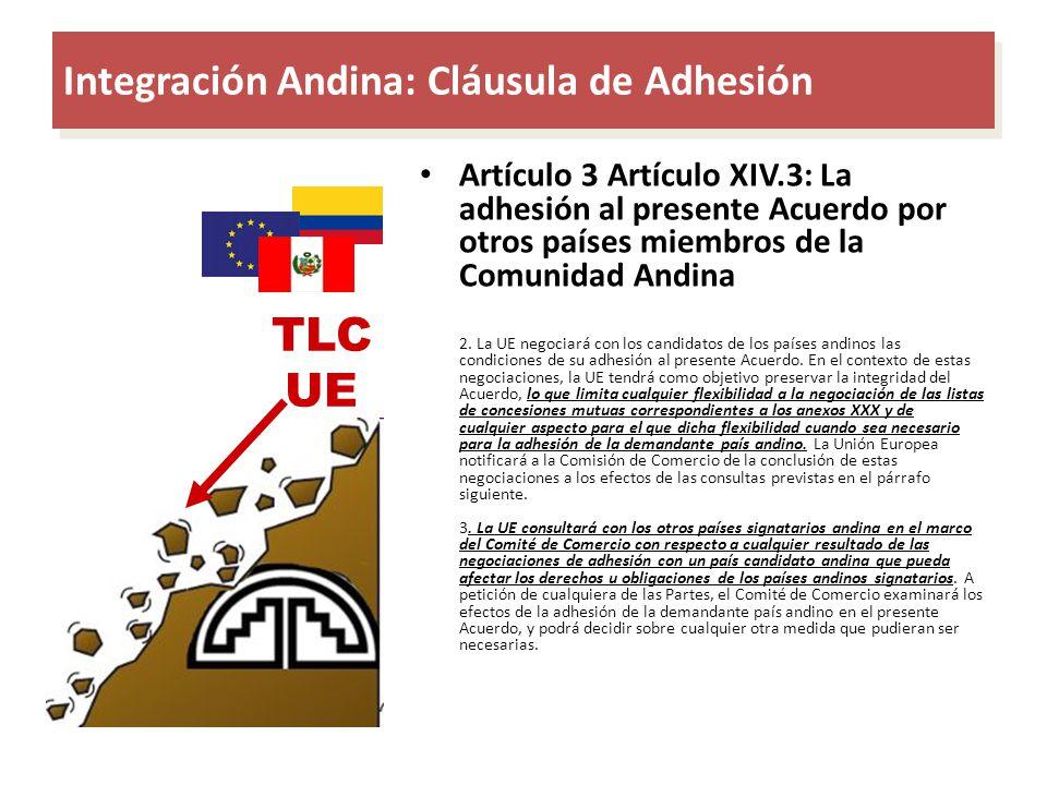 Integración Andina: Cláusula de Adhesión