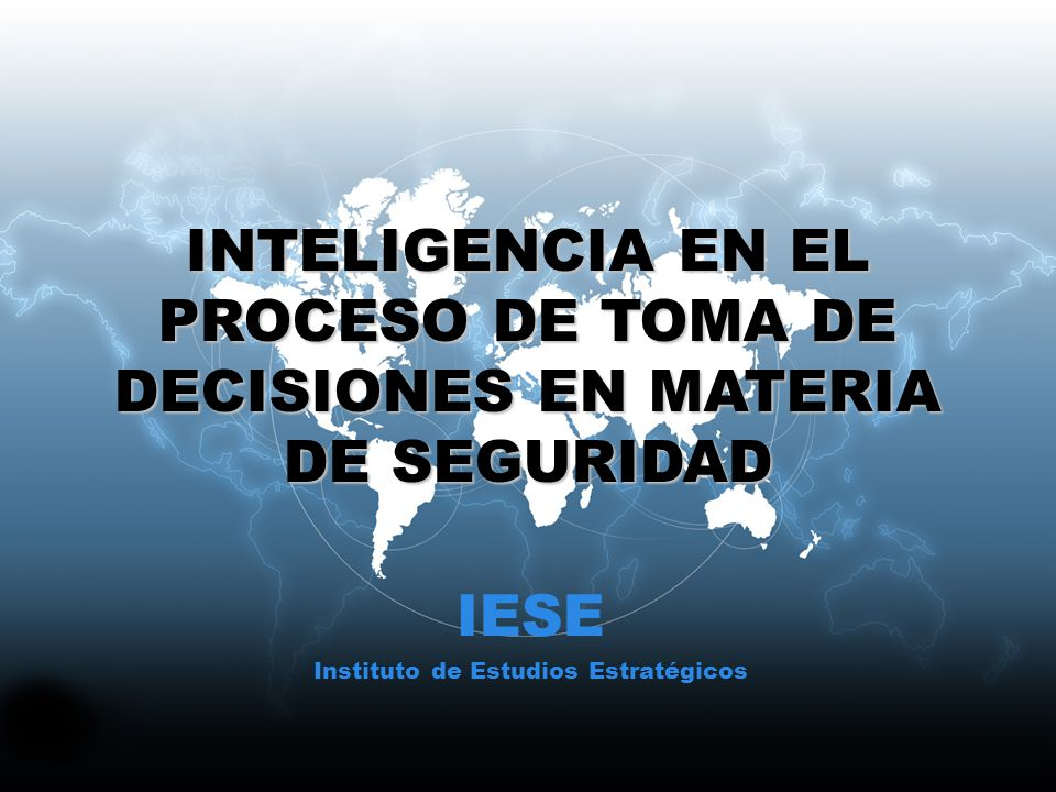 Instituto de Estudios Estratégicos