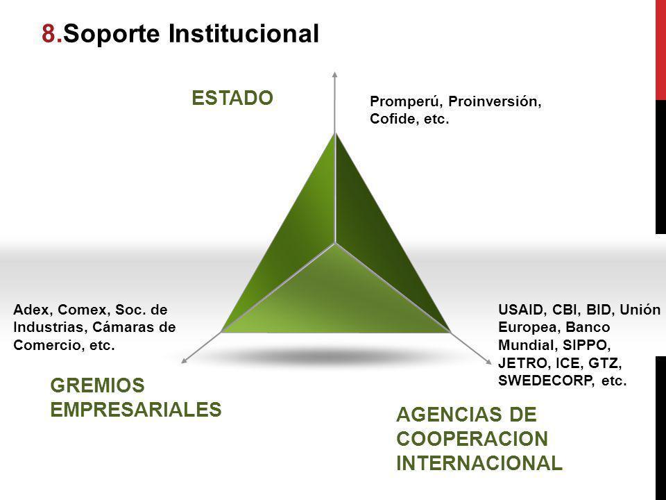 8.Soporte Institucional itucional