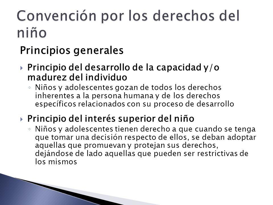 Convención por los derechos del niño