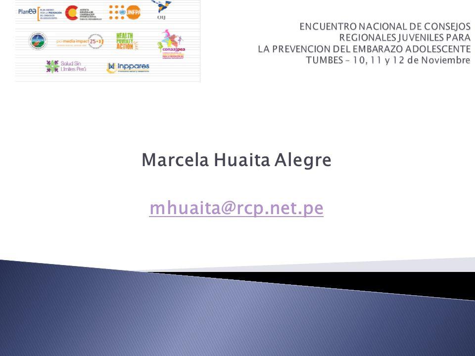 Marcela Huaita Alegre mhuaita@rcp.net.pe