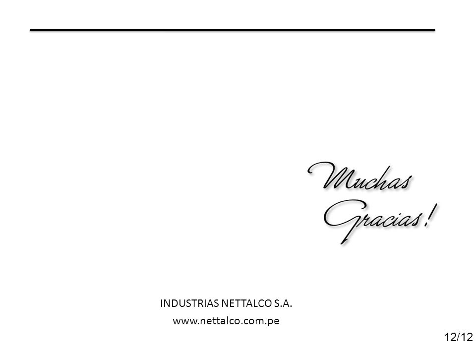 INDUSTRIAS NETTALCO S.A.