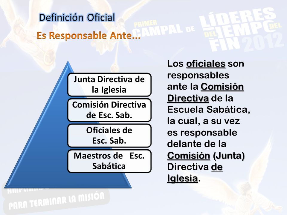 Definición Oficial Es Responsable Ante...