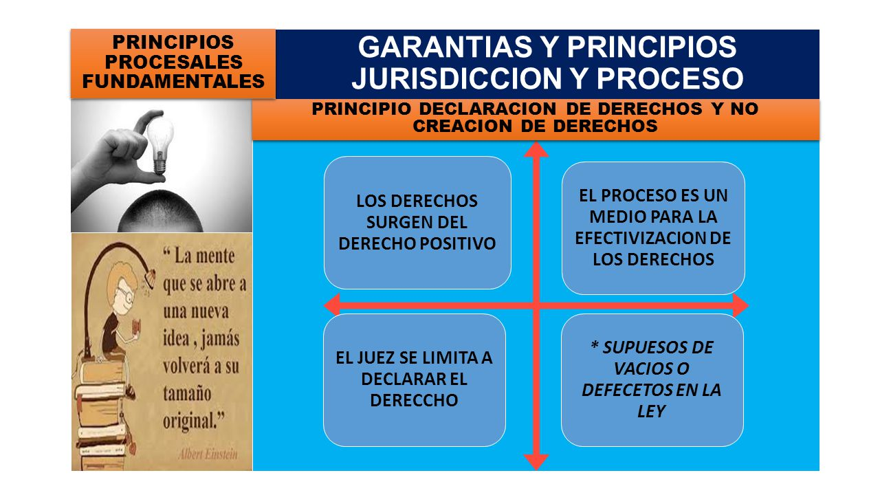 GARANTIAS Y PRINCIPIOS JURISDICCION Y PROCESO