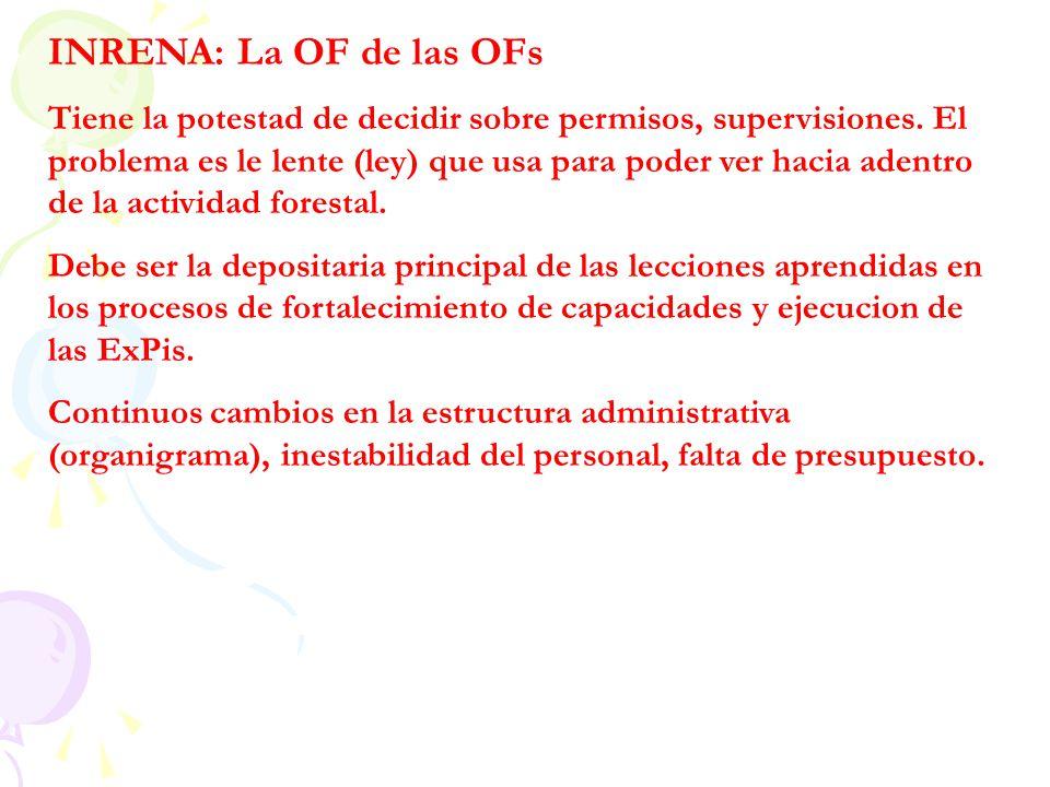 INRENA: La OF de las OFs