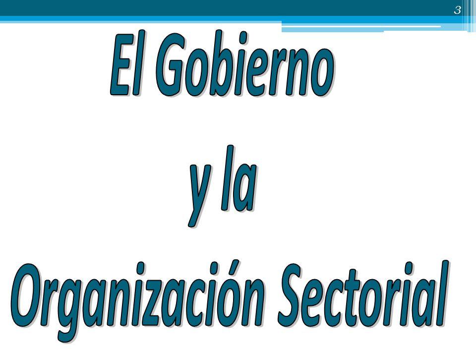 Organización Sectorial