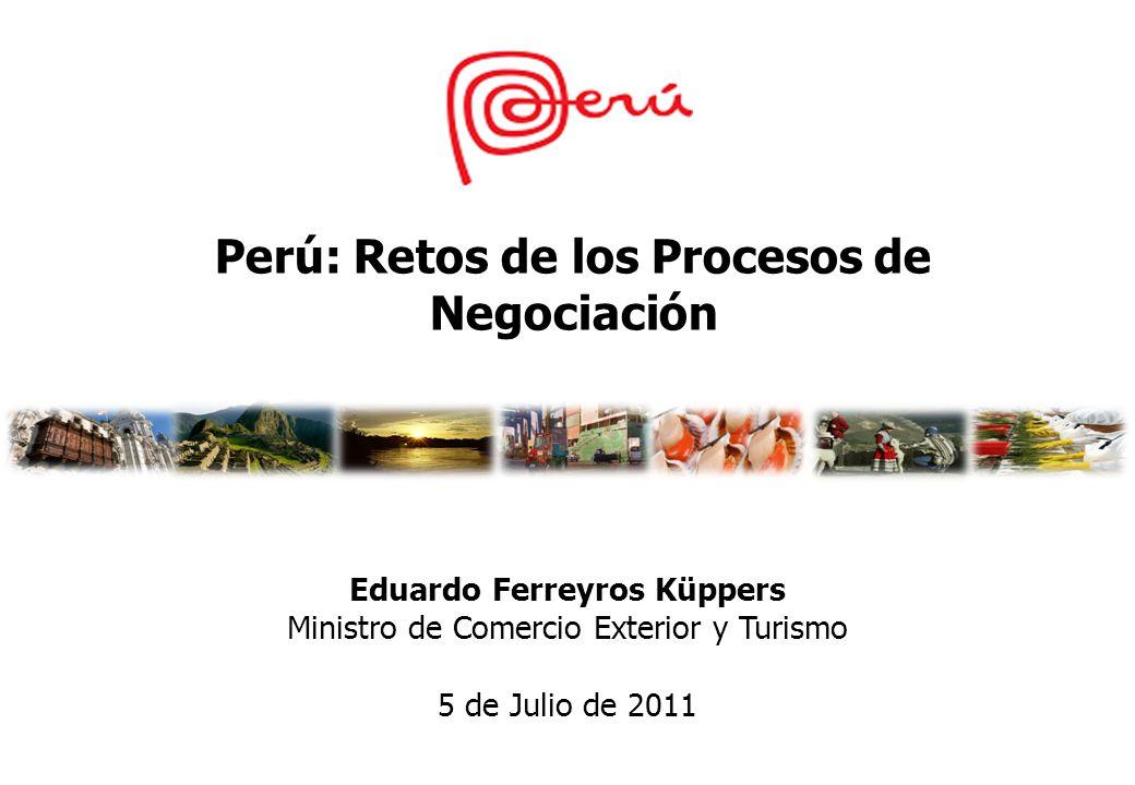 Perú: Retos de los Procesos de Negociación