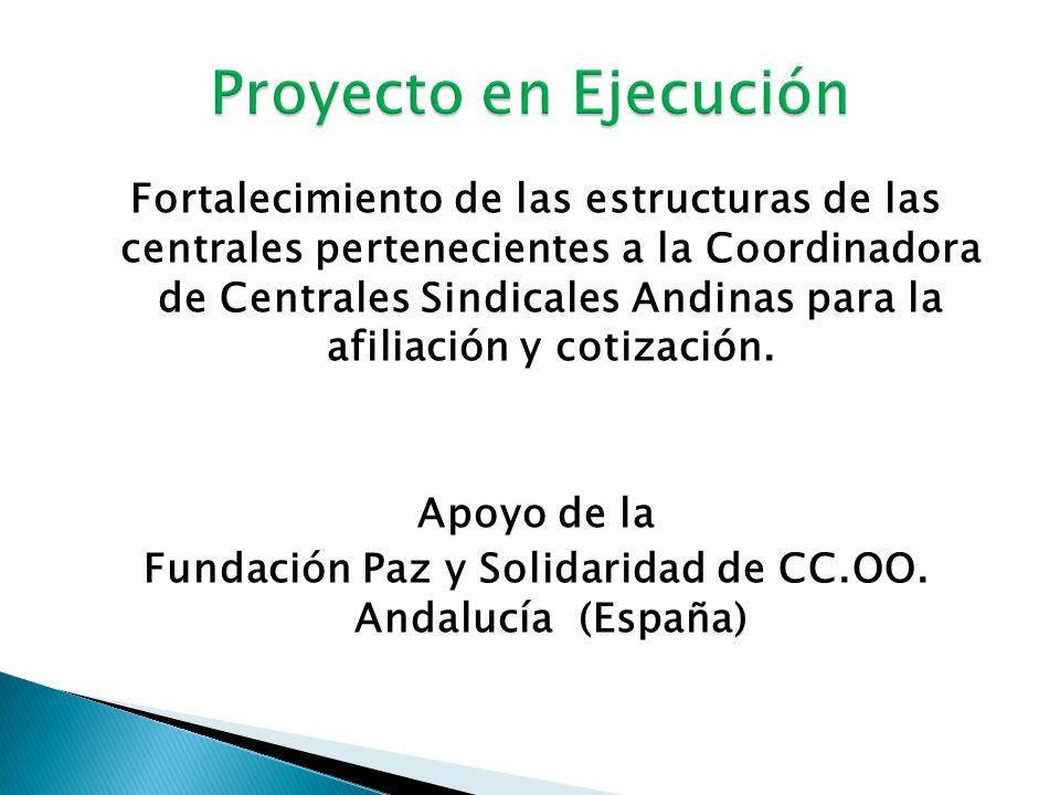 Fundación Paz y Solidaridad de CC.OO. Andalucía (España)