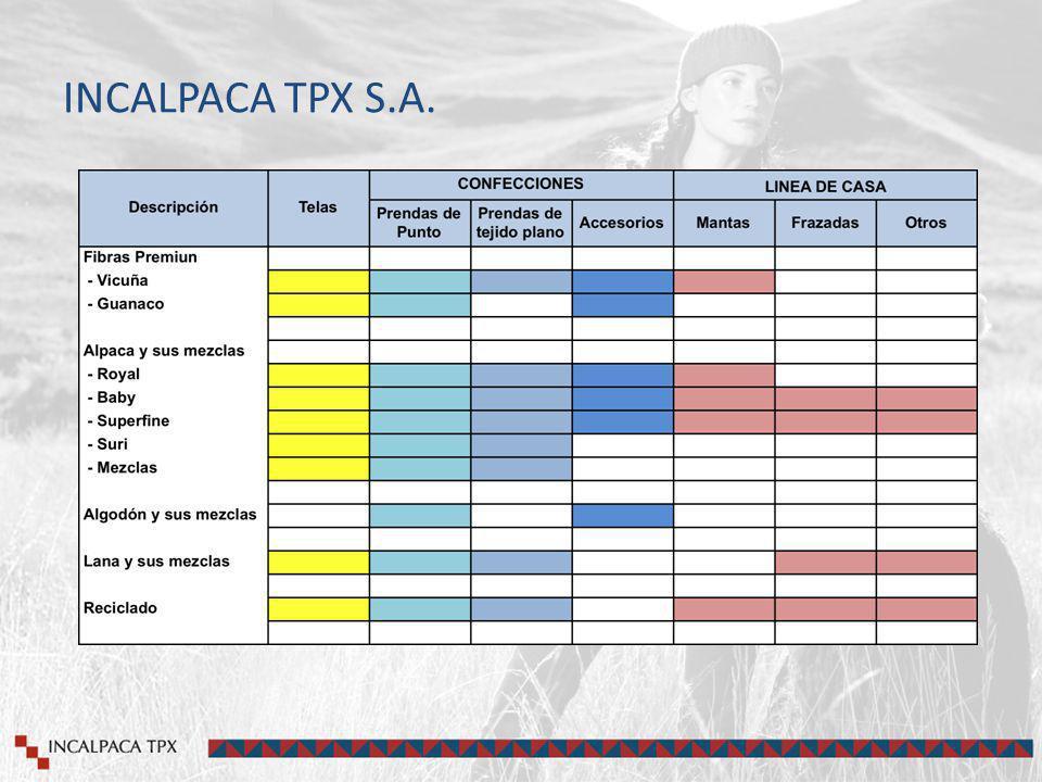 INCALPACA TPX S.A.
