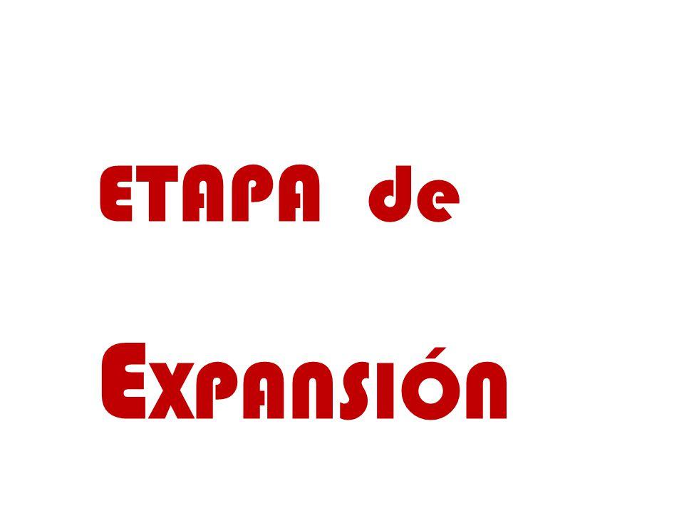 ETAPA de EXPANSIÓN
