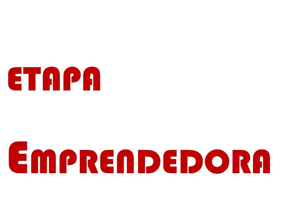 ETAPA EMPRENDEDORA