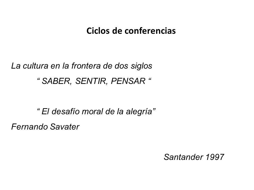 Ciclos de conferencias