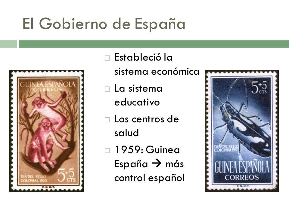 El Gobierno de España Estableció la sistema económica
