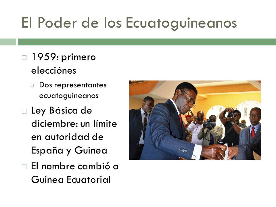 El Poder de los Ecuatoguineanos