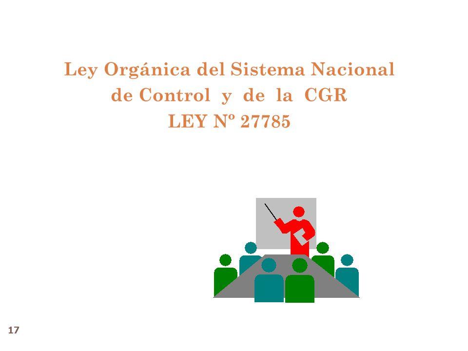 Ley Orgánica del Sistema Nacional