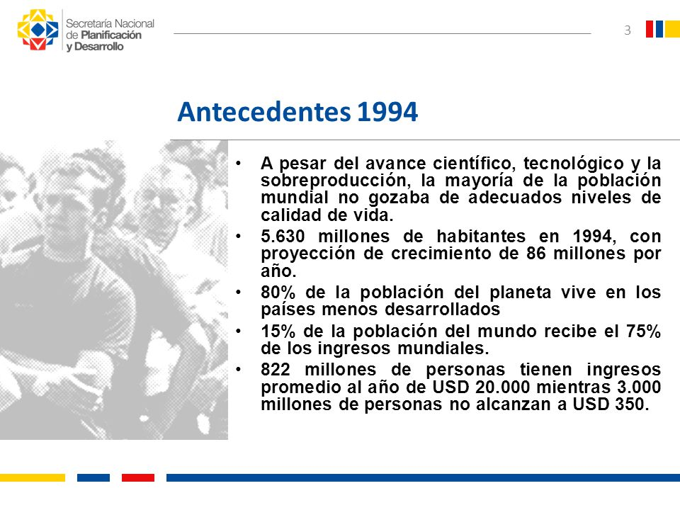 Antecedentes 1994