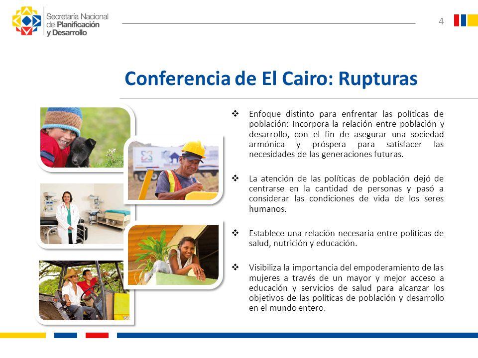 Conferencia de El Cairo: Rupturas