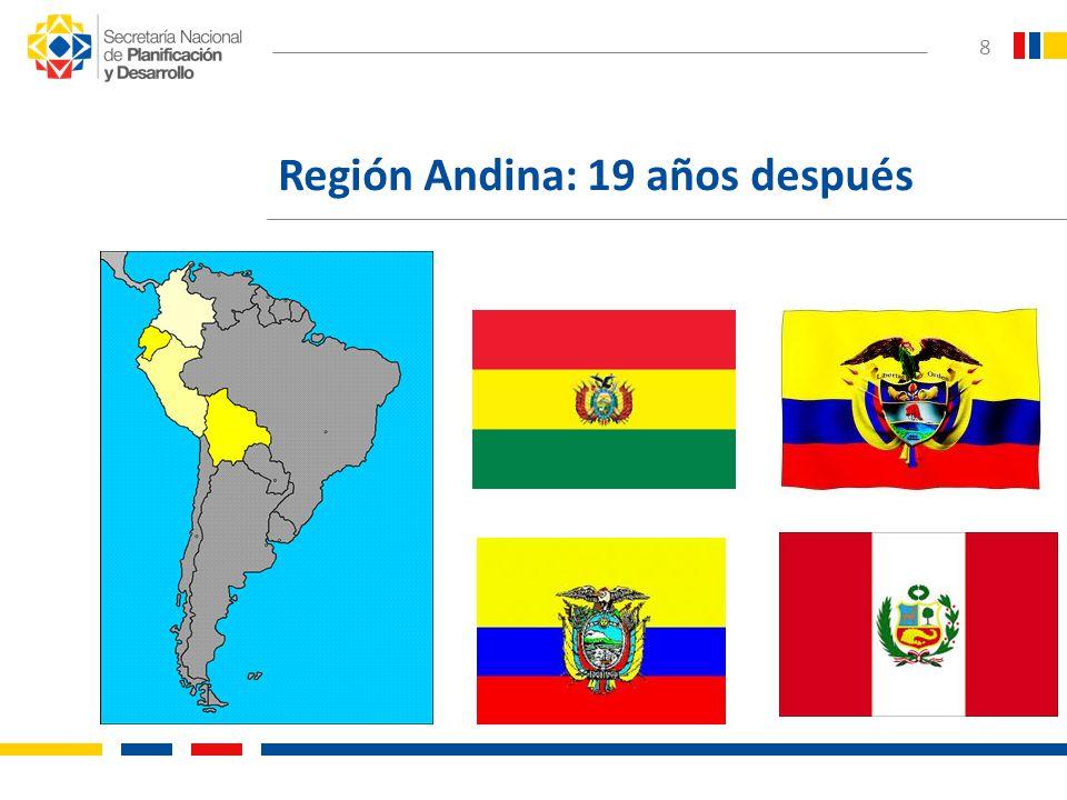 Región Andina: 19 años después