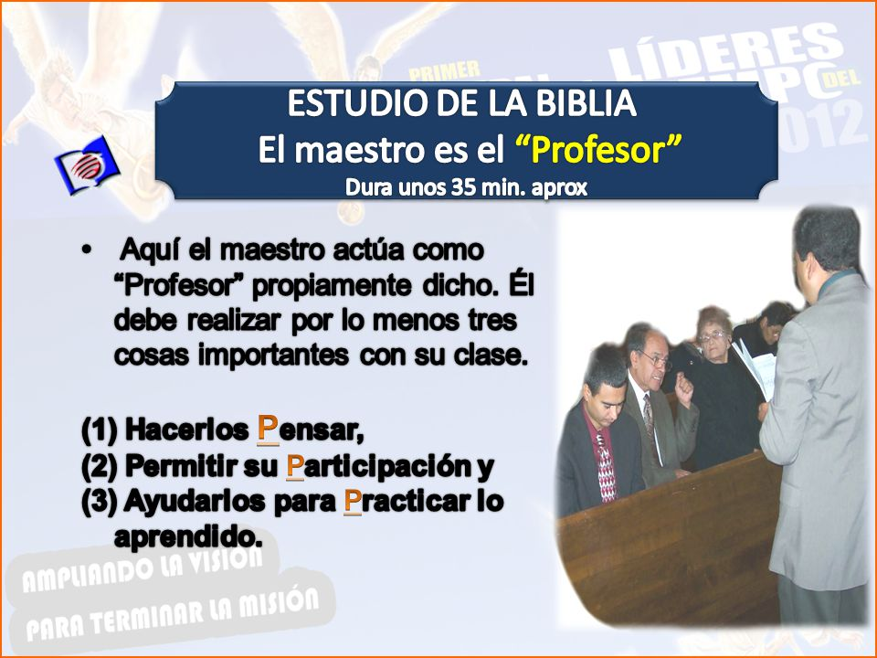 El maestro es el Profesor