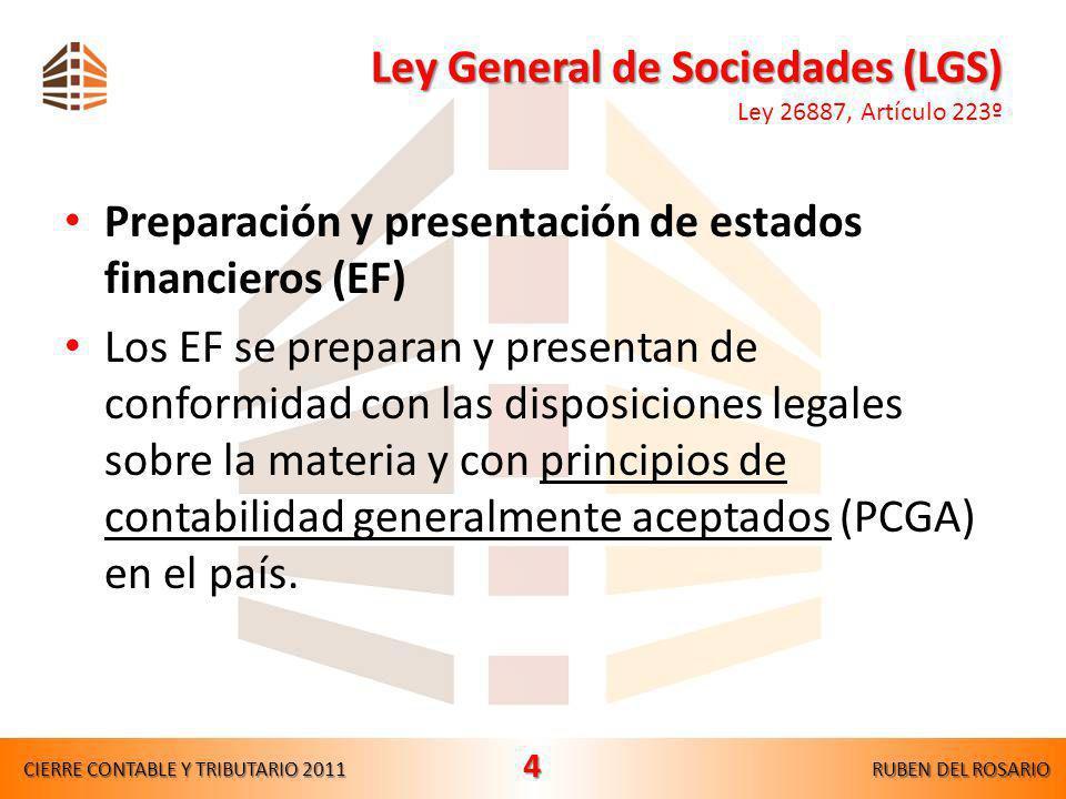Ley General de Sociedades (LGS) Ley 26887, Artículo 223º