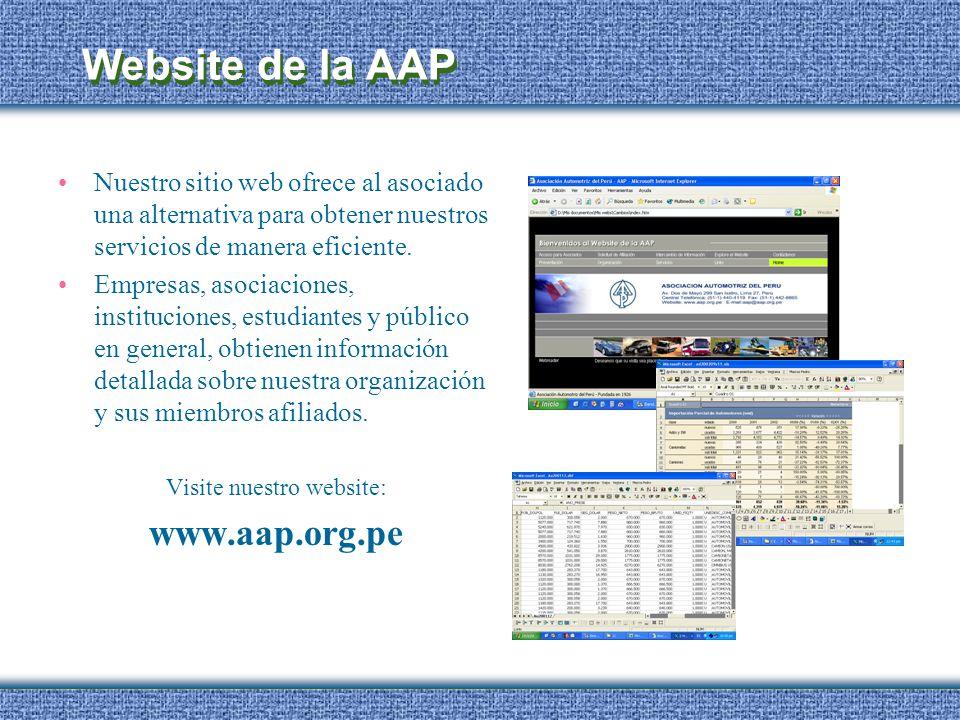 Visite nuestro website: