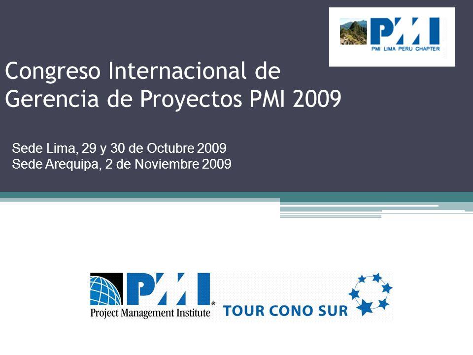 Congreso Internacional de Gerencia de Proyectos PMI 2009