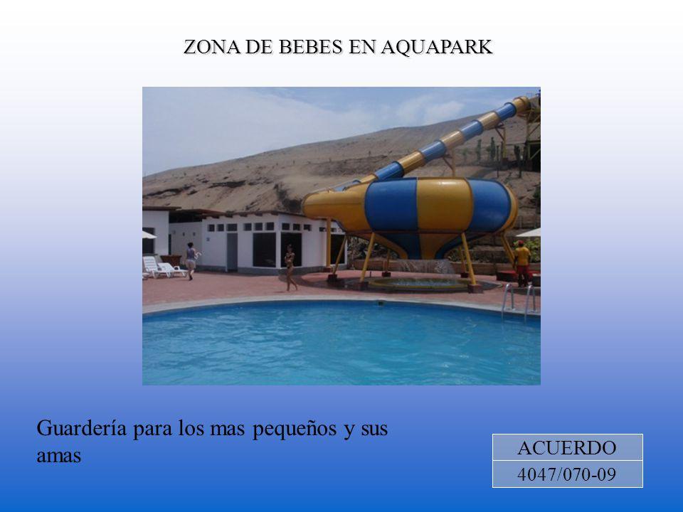 ZONA DE BEBES EN AQUAPARK