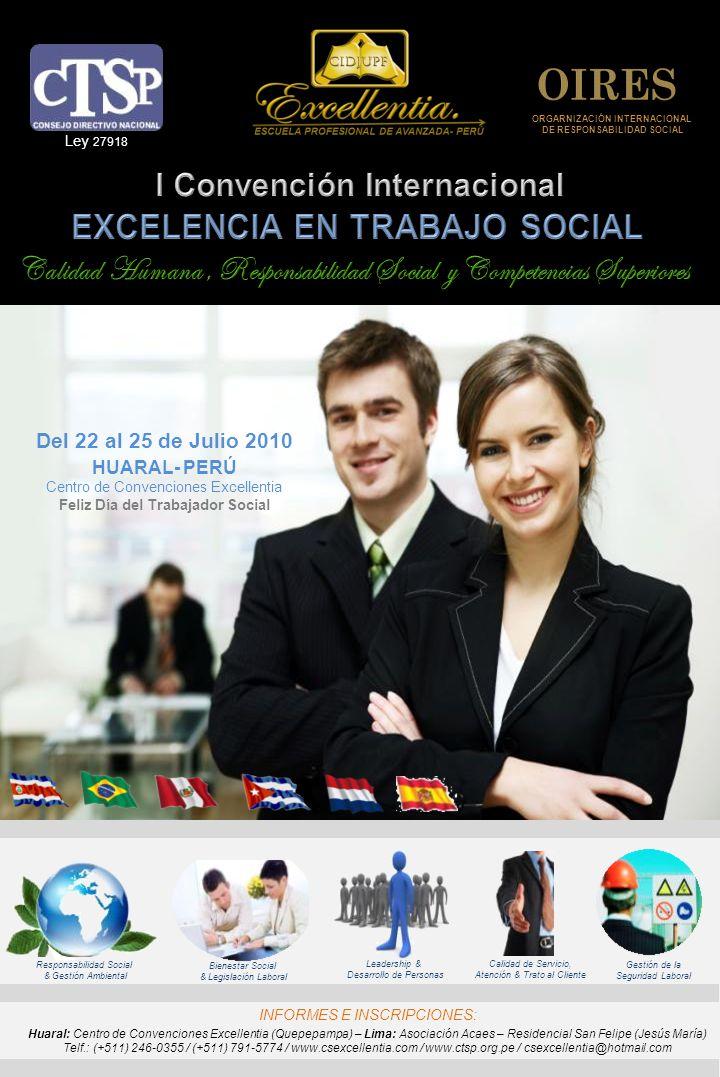 ORGARNIZACIÓN INTERNACIONAL DE RESPONSABILIDAD SOCIAL